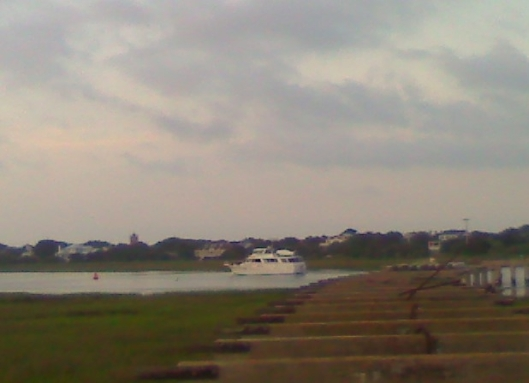 Hatteras going north 1 5-15-12
