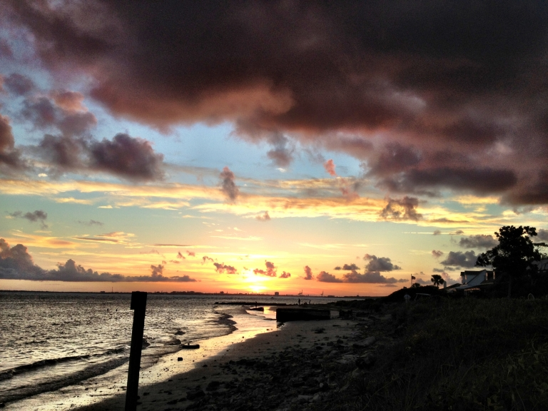 SI frontbeach sunset