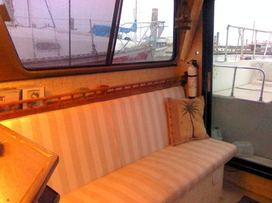 Starboard saloon