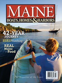 May 2013 Issue of Maine Boats, Homes & Harbors