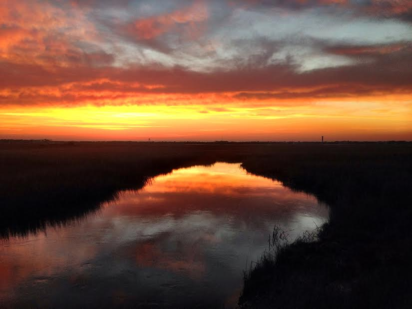 2-10-2014 Sunrise at the old bridge