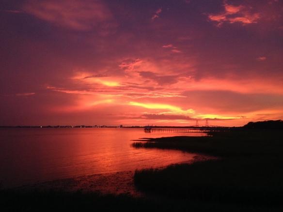 6-22-2015 Sunset - RIP Aunt Margie