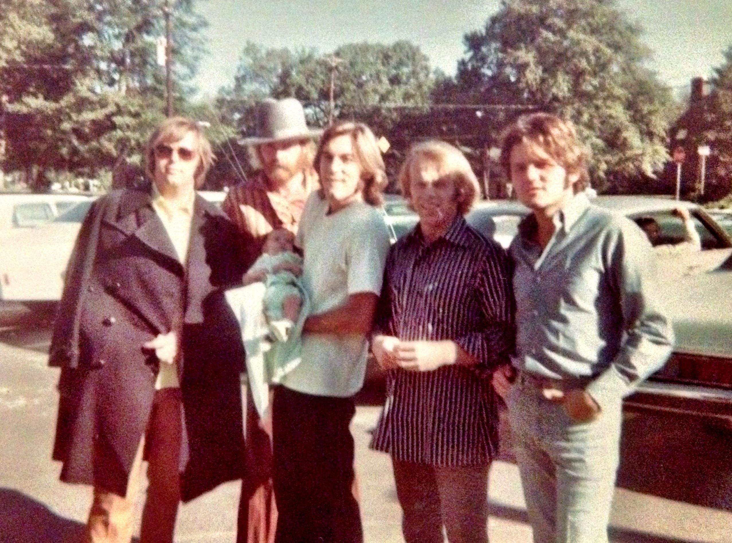 Beach Boys and Bo at 6 weeks
